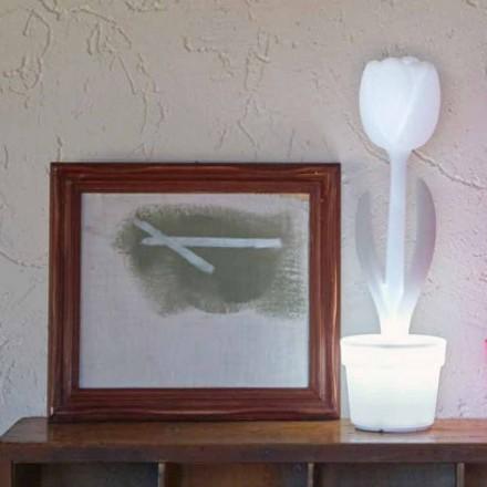 Komposition 4 Moderne design-ledede bordlamper - Tulipan af Myyour