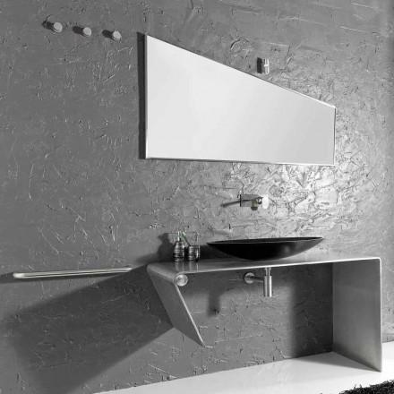 Moderne bordplade badeværelse møbler lavet i Italien Luisa
