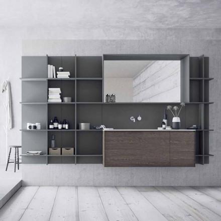 Suspenderede og moderne badeværelsesmøbler, designmøbler - Callisi12