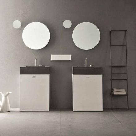 Gulvkomposition af moderne design badeværelsesmøbler - Farart10