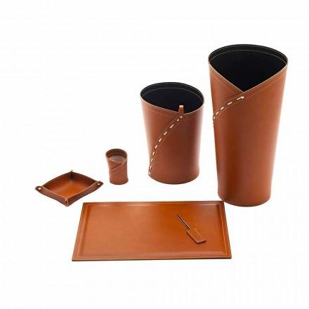Kontortilbehør fremstillet i Italien Paraplystativ, papirkurv, skrivebordspude - Giulio