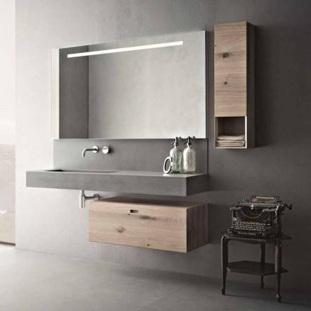 Designkomposition til moderne hængende møbler i badeværelset fremstillet i Italien - Farart2