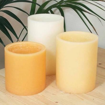 Sammensætning af duftende lanterne med stearinlys fremstillet i Italien 3 stk. - Terna