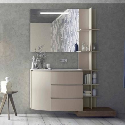 Sammensætning af møbler til badeværelset med moderne design - Callisi13