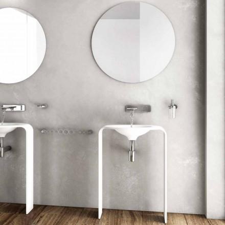 Moderne badeværelse gulvmøbel komposition lavet i Italien Siena