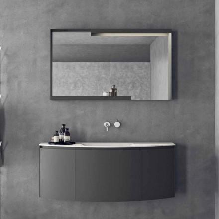 Moderne design, suspenderet badeværelse møbler sammensætning - Callisi3
