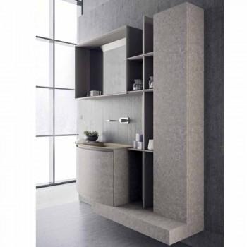 Badeværelsessammensætning, moderne italiensk designophæng - Callisi10