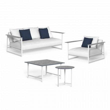 Design Living Room Composition i aluminium og Gres - Riviera af Talenti
