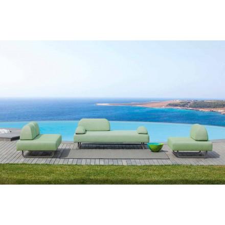 Udendørs stue Komposition i fremstillet i Italien Design Stof - Selia