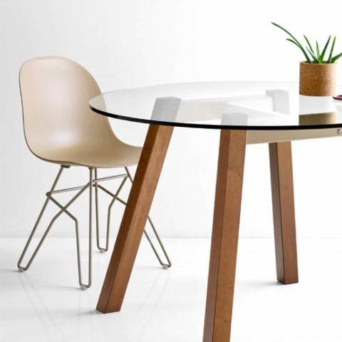Connubia Academy Calligaris stol moderne design lavet i Italien, 2 stk