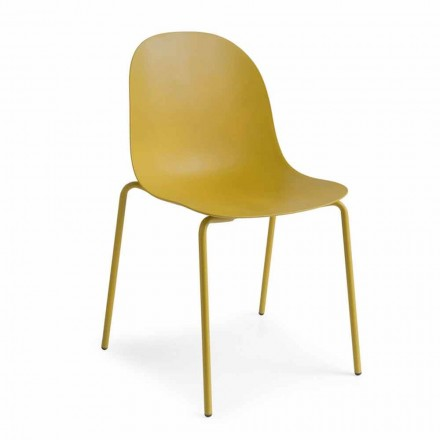 Connubia Academy Calligaris stol design polypropylen, 2 stykker