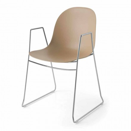 Connubia Academy Calligaris moderne stol i polypropylen, 2 stk