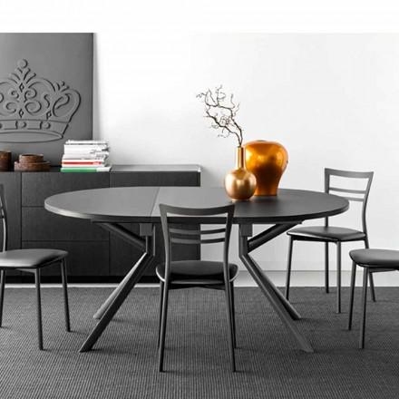 Connubia Calligaris Jupiter keramisk table forlængelige, W120 / 165 cm