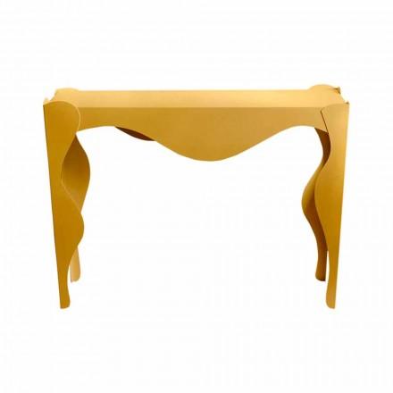 Stue konsol i moderne design i farvet jern fremstillet i Italien - Gertrude