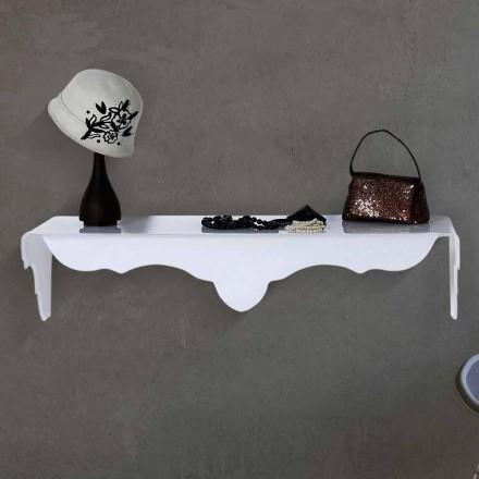 Fast konsol til at designe væg hvid Bianca, lavet i Italien