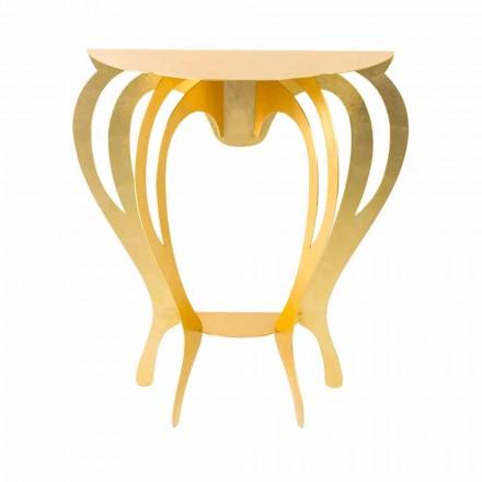 Konsol i farvet jern af moderne design fremstillet i Italien - Barbata