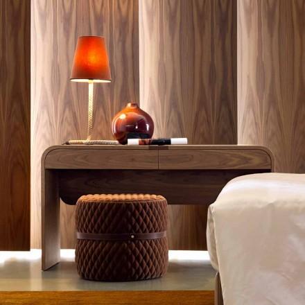 Grilli York design lavet i Italien massivt træ konsol bord