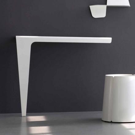 Moderne minimal designkonsol i farvet metal fremstillet i Italien - Benjamin