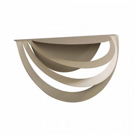 Suspenderet konsol i jern til moderne design fremstillet i Italien - Olfeo