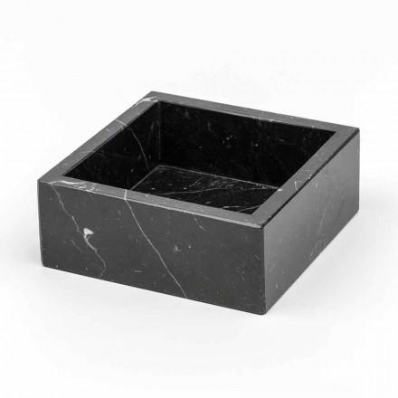 Firkantet container i Carrara eller Marquinia-marmor Fremstillet i Italien - Torre
