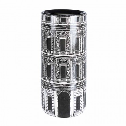 Par porcelæn paraplystativ med Homemotion-mærkat - Jumbo