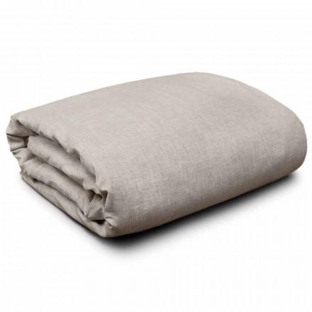 Dynebetræk i naturligt linned til king-size, enkelt- og fuldstore senge Fremstillet i Italien - Blessy