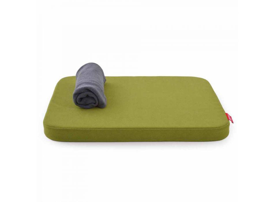 Kennel til hunde med pude udstyret med fleece tæppe fremstillet i Italien - Calduccio