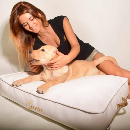 Hund pude dækket med imiteret læder interiør Doggy Cloud
