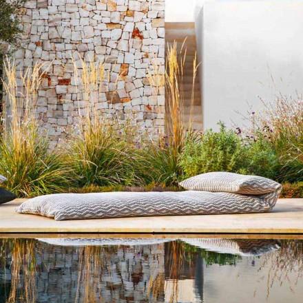 Single Daybed Outdoor Design Pouf, høj kvalitet lavet i Italien - Emanuela