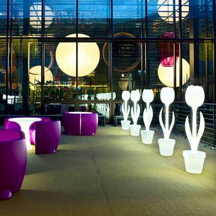 Lysende møbeldekoration til indretningsdesign, 2 stykker - Tulipan af Myyour