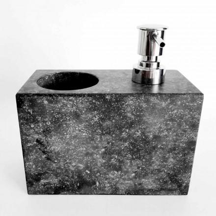 Flydende sæbedispenser med marmorglas fremstillet i Italien - Clik