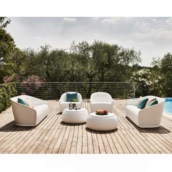 2 -personers udendørs sofa i farvet polyethylen Fremstillet i Italien - juli