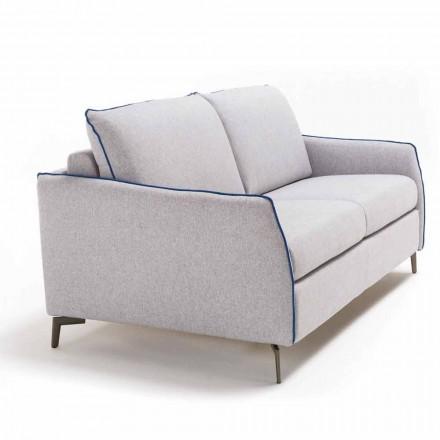 2-pers. Stor sofa Erica længde 165 cm, lavet i Italien moderne design