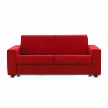 3-pers. Maxi sofa moderne design øko-læder / stof fremstillet i Italien Mora