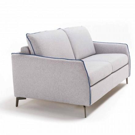 3-pers. Maxi-sofa Erica L. 205 cm, betræk af stof / kunstlæder