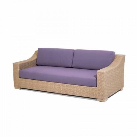 3 personers sofa Udendørs polyethylen og Joe Tempotest