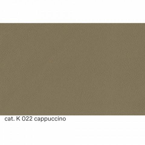 3 -personers sofa betrukket i høj kvalitet fremstillet i Italien Læder - Centauro