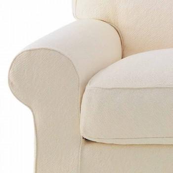 3 -personers sofa dækket i høj kvalitet fremstillet i Italien stof - Andromeda