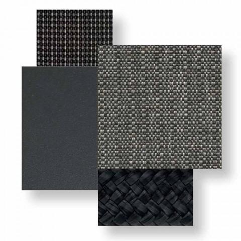 2-personers udesofa i aluminium og stof - Luksus hytte af Talenti