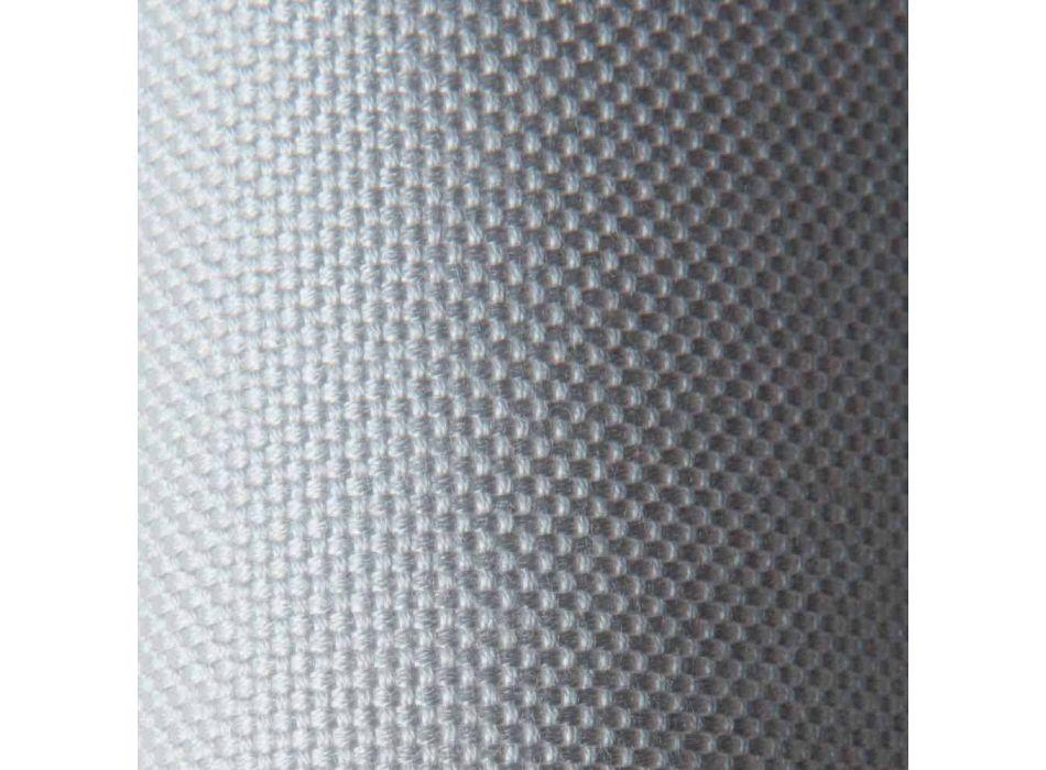 2-personers udesofa i stof og metal fremstillet i Italien Design - Selia