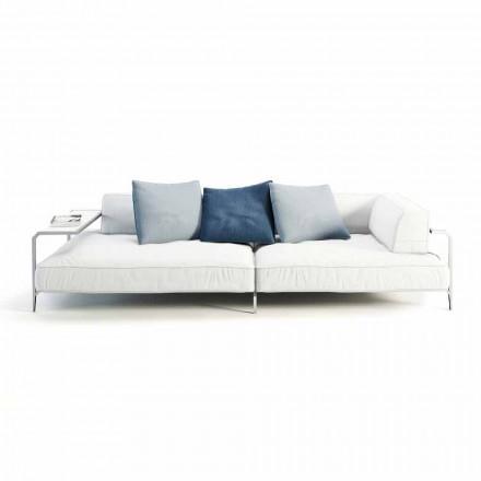 Udesofa betrukket med moderne designstof fremstillet i Italien - Arkansas