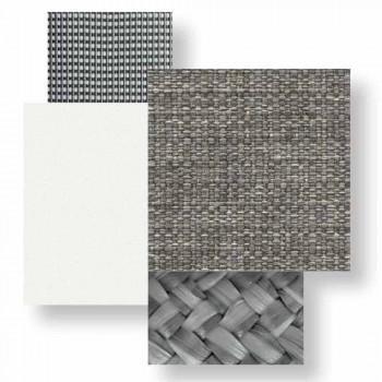 3-pers. Havesofa i aluminium og stof - Luksus hytte af Talenti