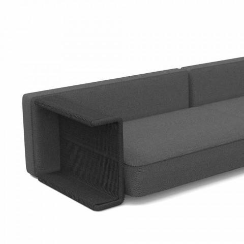 3-personers have sofa i hvidt, beige eller gråt stof - Cliff Decò Talenti
