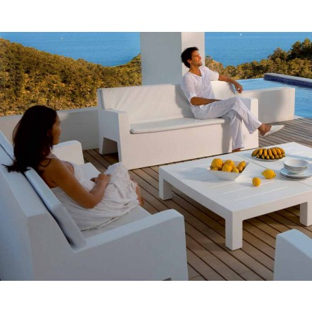 Have sofa Jut af Vondom, i polyethylenharpiks, moderne design