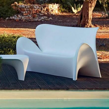Udendørs eller indendørs stue Sofa Farvet plastikdesign - Lily af Myyour