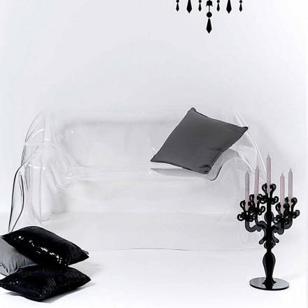 Moderne sofa design plexiglas Jolly, fremstillet i Italien