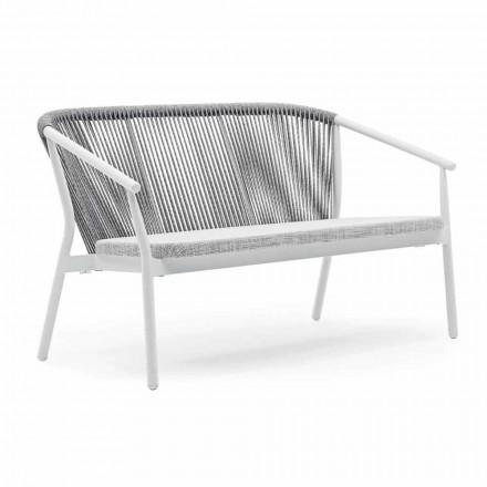 To-personers havestabelsofa aluminium og stof - Smart af Varaschin