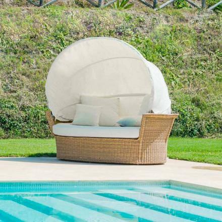 Sofa ø afslappende have med Hector gjort vævning i hånden, moderne design