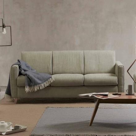 Moderne design sovesofa i stof lavet i Italien Filippo
