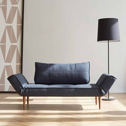 Sovesofa i moderne design Zeal by Innovation i polstret stof